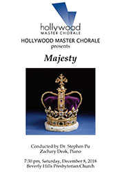 Program Cover for Majesty performance