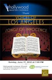 2012: Voices of Los Angeles: Songs of Innocence